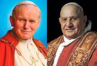 Deux papes saints, deux saints voués à Marie