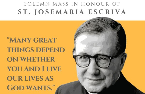 Opus Dei - Celebrating the Feast of Saint Josemaria in Singapore (2018)