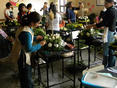 Este oficio permite trabajar en floristería o decoración de ambientes.