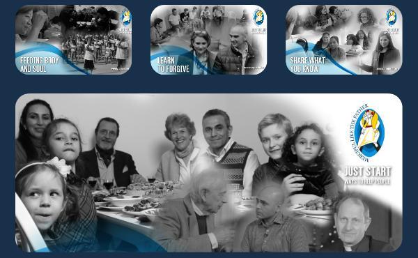 """Opus Dei - """"Basta empezar"""", una serie internacional sobre modos prácticos de ayudar a los demás en el año de la misericordia"""
