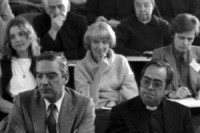 Während einer Vorlesung im Jahre 1984