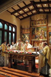 Messe à la résidence Kenthurst
