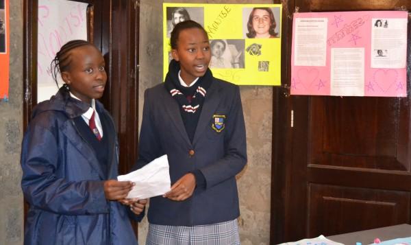 Opus Dei - Montse day in Kianda School