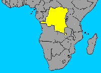 Situación geográfica de El Congo