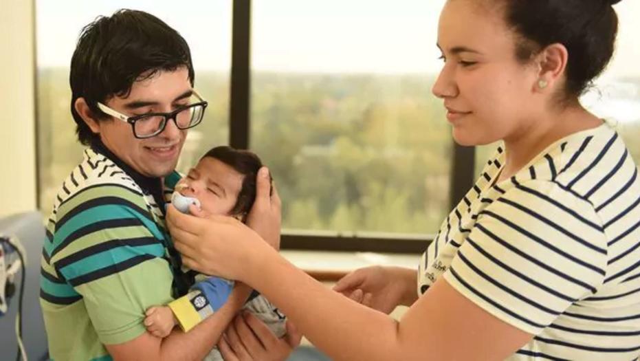 Opus Dei - El extraordinario trasplante de hígado a un bebé de apenas 35 días no sólo es una hazaña médica: también el mejor Día del Padre para el donante