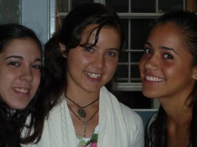 Valeria, Celina y Belén