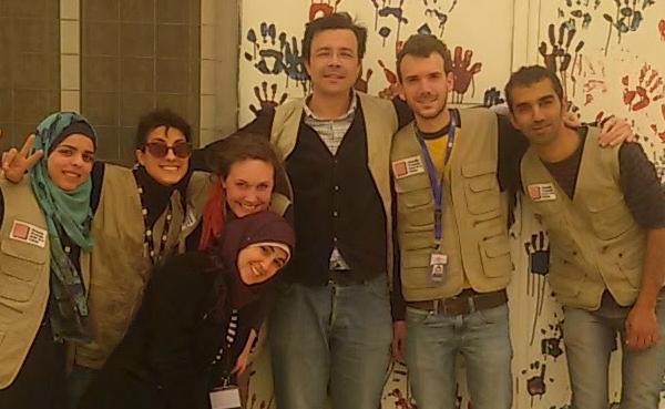 De Barcelona a Beirut para trabajar con refugiados
