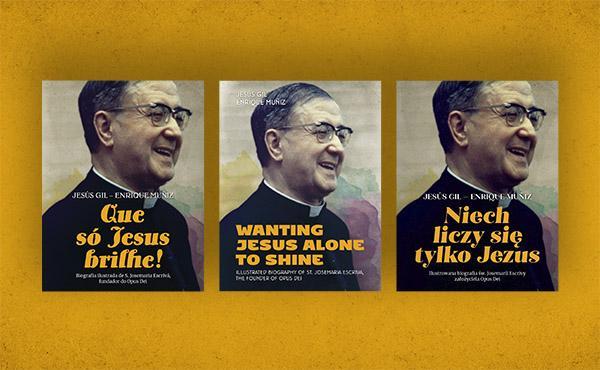 La biografía ilustrada de san Josemaría, disponible en inglés, polaco y portugués