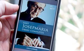Disponible el llibre electrònic de les obres completes de sant Josepmaria