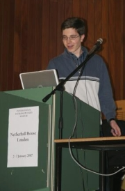 University students presented papers on themes of topical and scientific interest.