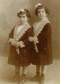 Lolita (la stângă) și Asunción (la dreaptă)