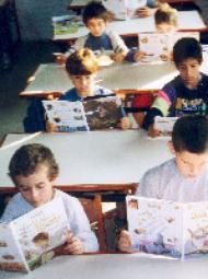 Onderwijsproject in een sloppenwijk van Uruguay