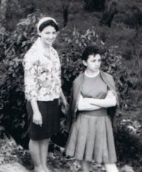 Lourdes e Zezinha em Capivari (1963)