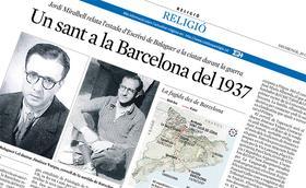 Un sant a la Barcelona del 1937