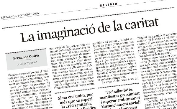 La imaginació de la caritat