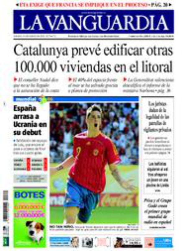 La Vanguardia: Código averiado