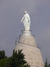 Madre de Dios de Harissa, patrona del Líbano. Foto: Ferrán Canet
