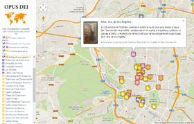 Recorridos históricos en Madrid sobre los comienzos del Opus Dei