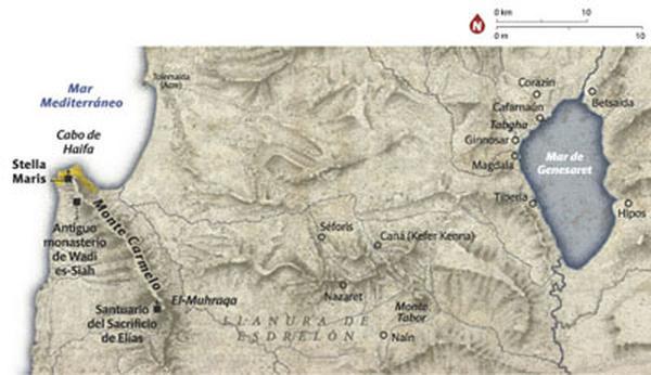 Das Heiligtum Stella Maris auf dem Berg Karmel