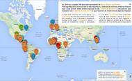 Mapa de iniciativas sociales promovidas por don Álvaro