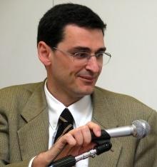 Marc Carroggio, do Escritório de Imprensa do Opus Dei em Roma