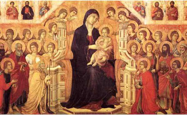 A mediação materna de Santa Maria