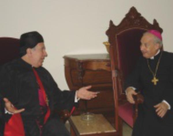 """Bisschop Javier Echevarría in Libanon: """"De vrede is een geschenk van God"""""""
