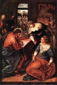 Lundi Saint : Jésus à Béthanie
