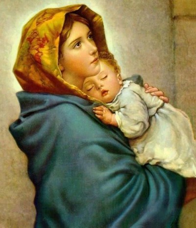 'Madonna z ulicy' - Robert Feruzzi