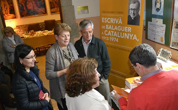 Opus Dei - El llibre sobre sant Josepmaria a Catalunya, presentat a Arbúcies