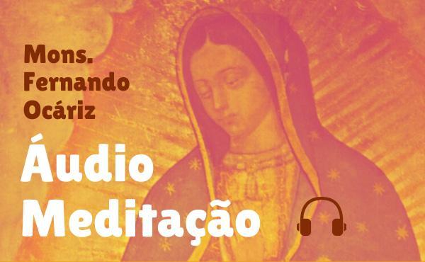 """Áudio meditação do prelado: """"A amizade de Maria"""""""