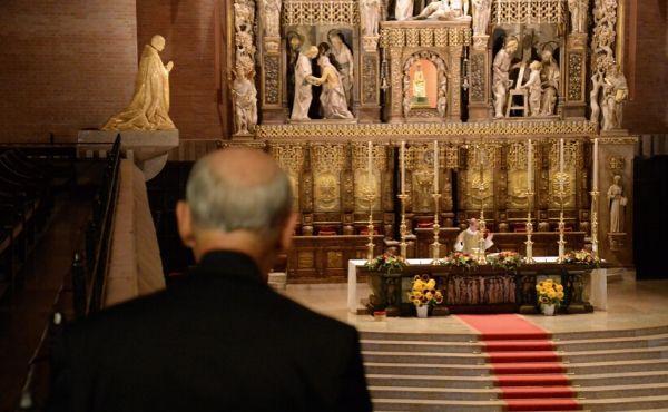 Meditazione del prelato sull'inizio della Settimana Santa