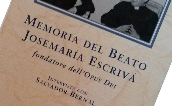 Opus Dei - Memoria del beato Josemaría Escrivá