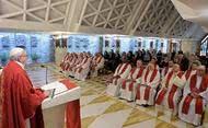 Papež: Evangelizace není podnikatelská činnost ani kariérní postup