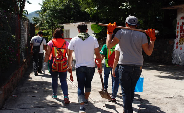 Opus Dei - Messico, a poche settimane dal terremoto