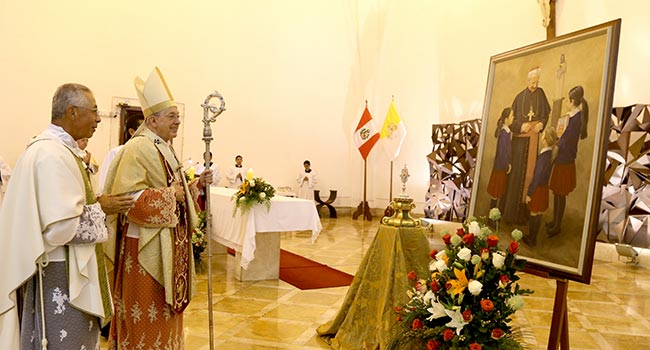 """Opus Dei - Cardenal Cipriani: """"Don Álvaro del Portillo sirvió al Papa con amor y con obras""""."""