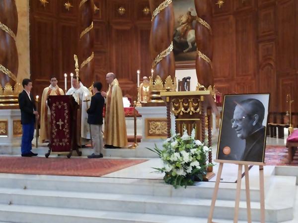 Opus Dei - قداس شكر في بيروت بمناسبة تطويب ألفارو دل بورتيو