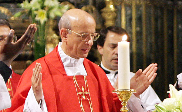 """Opus Dei - Homilia de Quinta-feira Santa: """"Ninguém está excluído do amor de Jesus"""""""
