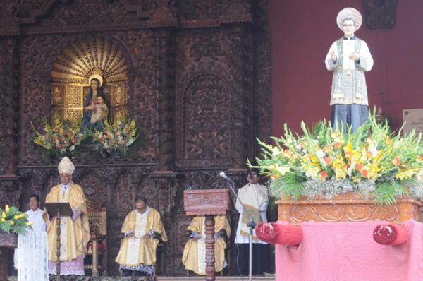 Homenagem a São Josemaria pelo 40º aniversário da sua visita a Cañete (Peru)
