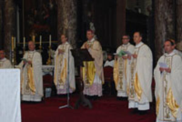 Missen ter ere van de heilige Josemaría in Brussel en in Antwerpen