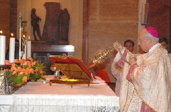 Mons. Javier Echevarría, Prelato dell'Opus Dei. Roma, 26 giugno 2007