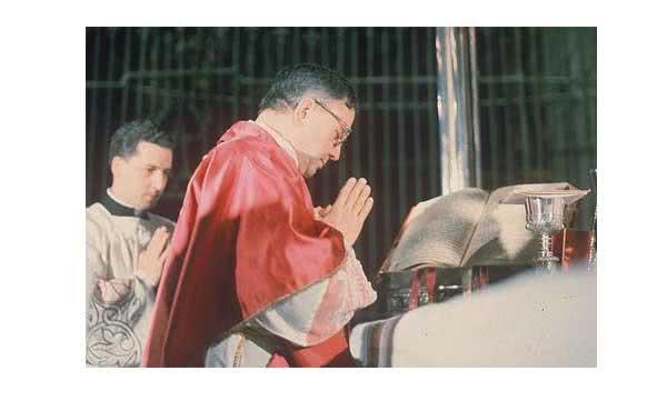Aquelas Missas fizeram com que amasse a Liturgia.