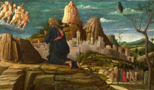 Primo mistero doloroso. L'orazione di Gesù nell'orto