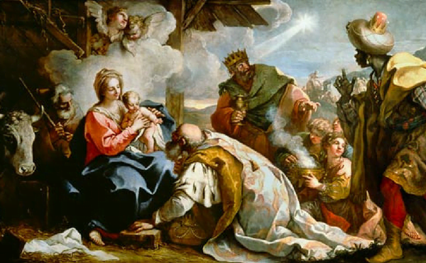 Vida de Maria (IX): Adoração dos magos
