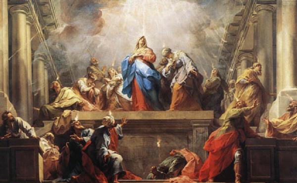 Na Festa de Pentecostes
