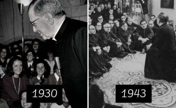 """""""Dois temas capitais: elas e os sacerdotes"""""""