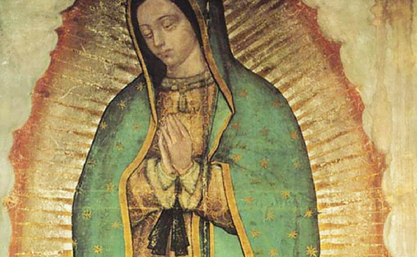 Opus Dei - Oração de São Josemaria diante de Nossa Senhora de Guadalupe