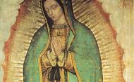 Oração de São Josemaria diante de Nossa Senhora de Guadalupe