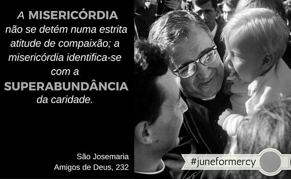 #JuneForMercy, propostas para refletir sobre a misericórdia