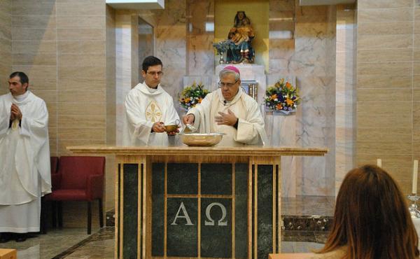 Bendición y consagración del oratorio de Monaita en Granada